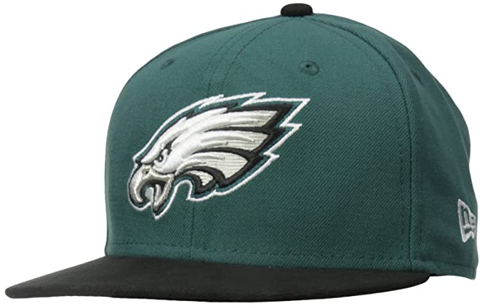 d3b8dbf83 Amazon.com   NFL Child Philadelphia Eagles On Field 5950 Midnight Green  Game Cap By New Era   Sports Fan Baseball Caps   Clothing