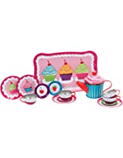Schylling Cupcakes Tin Tea Set