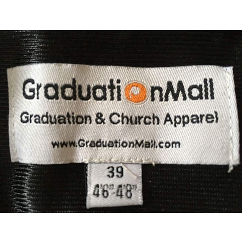 GraduationMall Graduierung Talar Erwachsenen UK Bachelor Abschluss Robe mit US Doktorhut