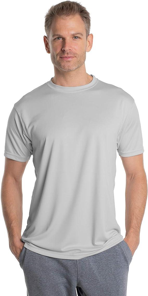 Vapor Apparel - Camiseta de Manga Corta con protección Solar contra Rayos UV - para Hombre - Factor 50+: Amazon.es: Ropa y accesorios