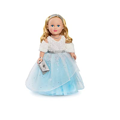 "My Life Holiday Winter Princess, 18"" Blonde Doll: Toys & Games"