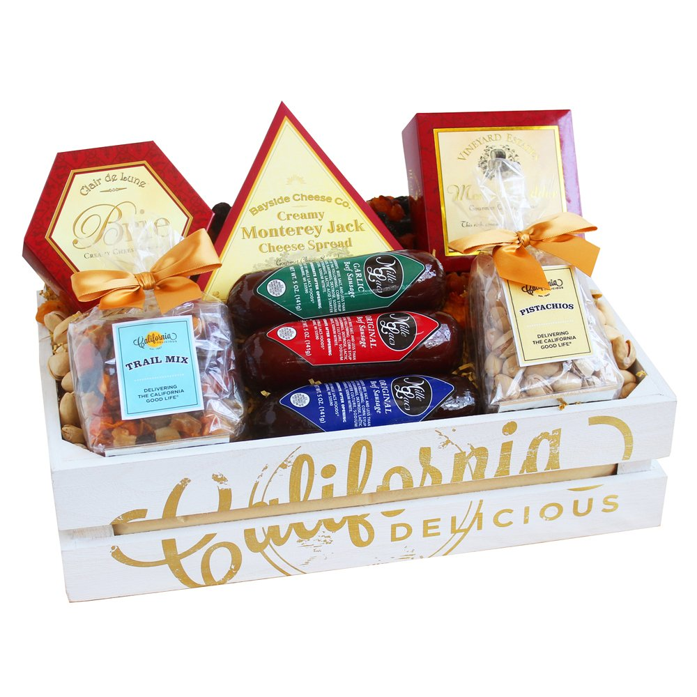 California Delicious Picnic for Two Gift Basket by California Delicious (Image #1)