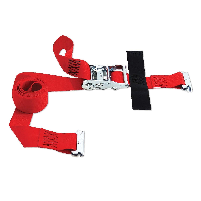 with Hook /& Loop storage fastener Snap-Loc Cargo SLTE208RR SNAPLOCS E-STRAP 2x8 RATCHET USA!