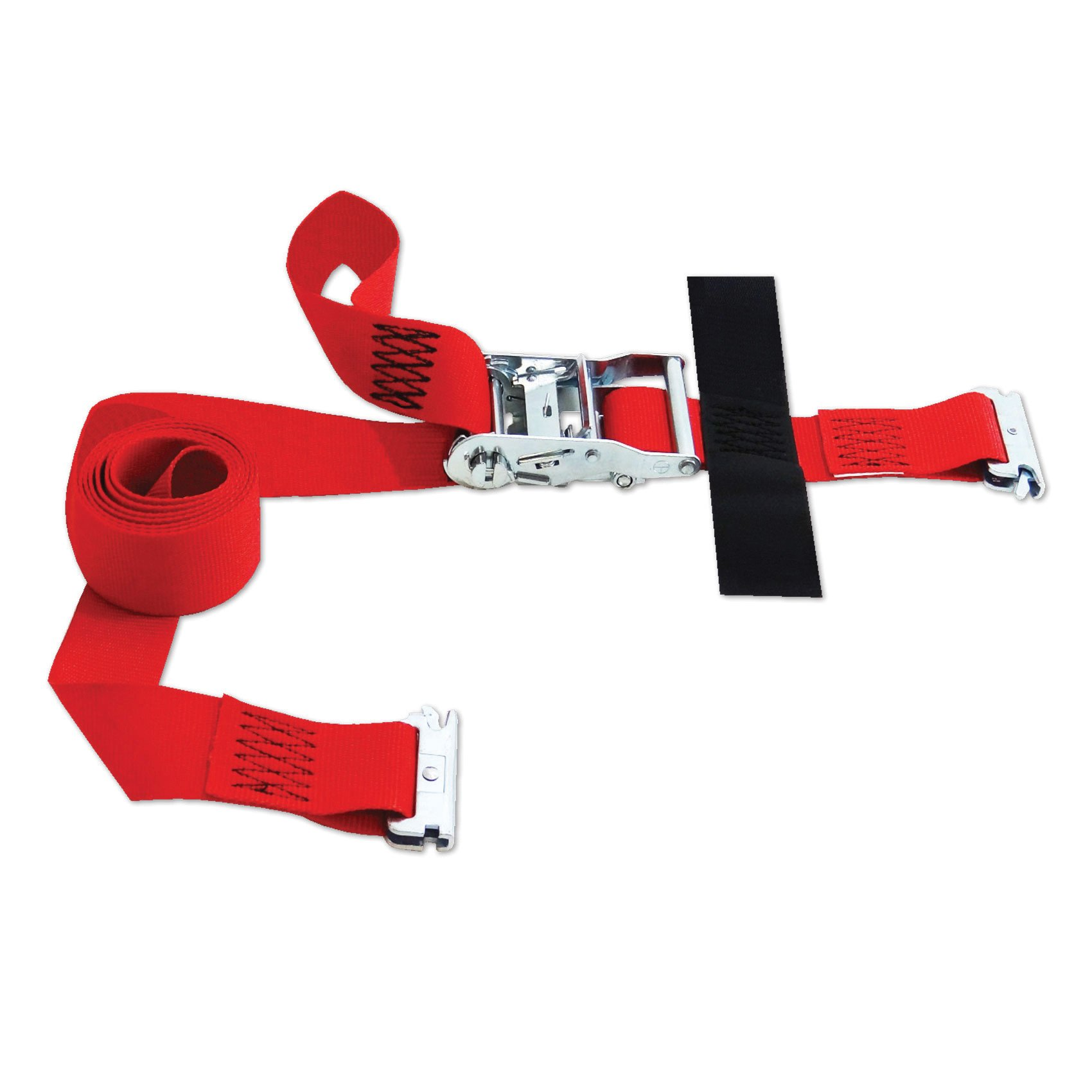 SNAPLOCS E-STRAP 2''x8' RATCHET (USA!) with Hook & Loop storage fastener by Snap-Loc
