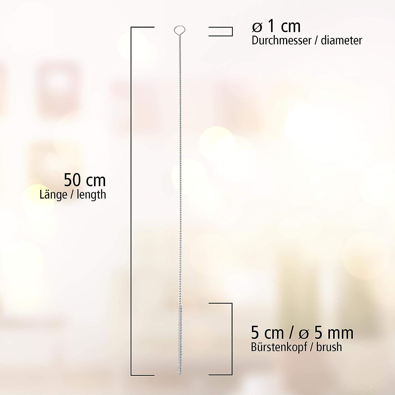Milch Reinigungs Schlauch Espressomaschinen Bürste 2 St Set 50cm D 5 mm Lantelme