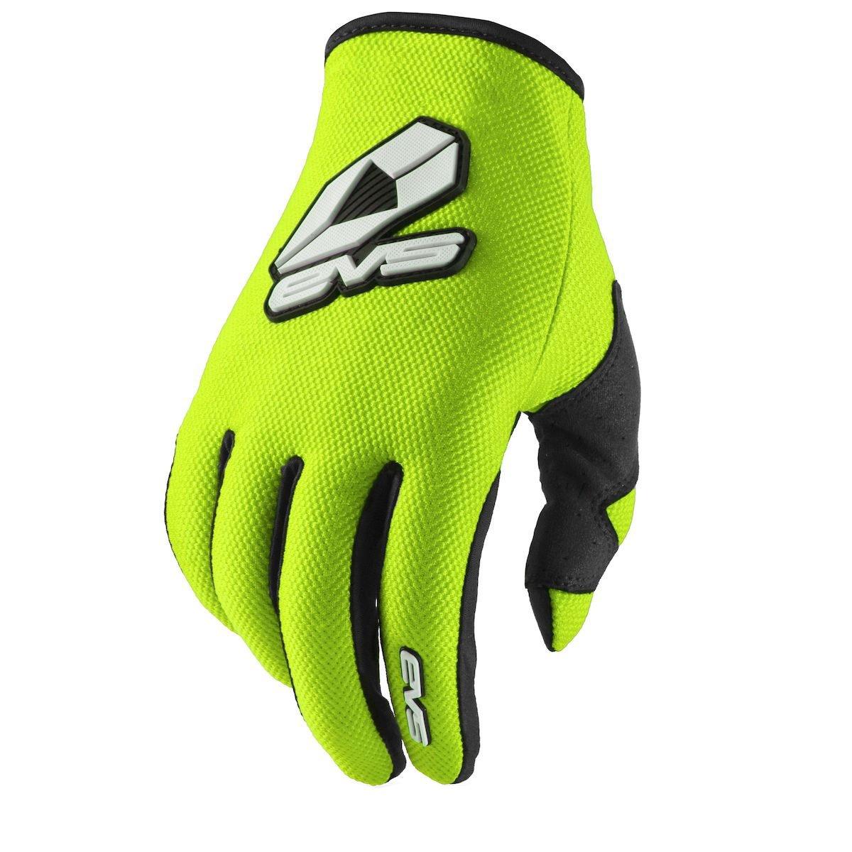 EVS Sports Sport Gloves (Hi-Viz Yellow, Large)