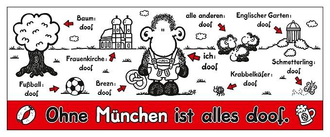 Amazon Com Sheepworld Coffee Mug With German Text Ohne