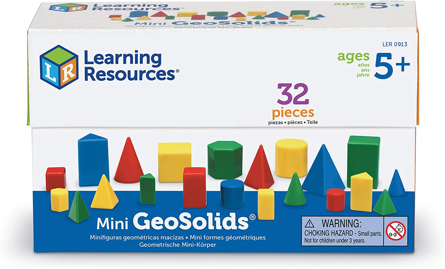 Giant Geosolids 1 Set Of 10 LEARNING RESOURCES
