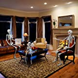 proxracer 5.4 Ft. Halloween Skeleton Life