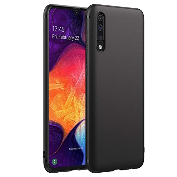 EasyAcc Slim Case for Samsung Galaxy A50/ A50s/ A30s, Matte Black Phone Case Soft Ultra Thin Fit TPU Back Protective Cover Compatible with Samsung ...