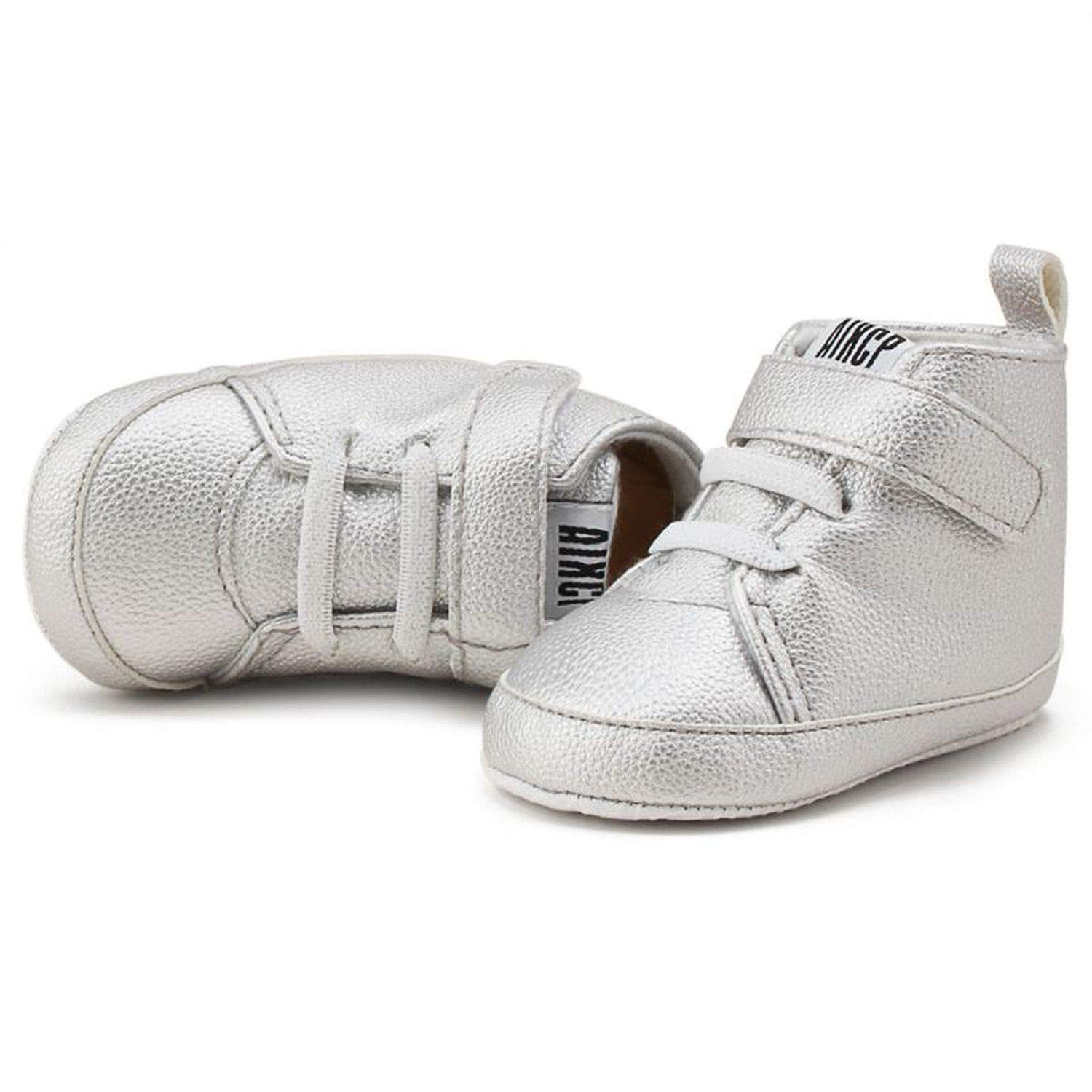 Autumn Winter Baby Pu Shoes Toddler Newborn First Walkers Kids Boy Girl Soft Sole Sneaker 0-12Months