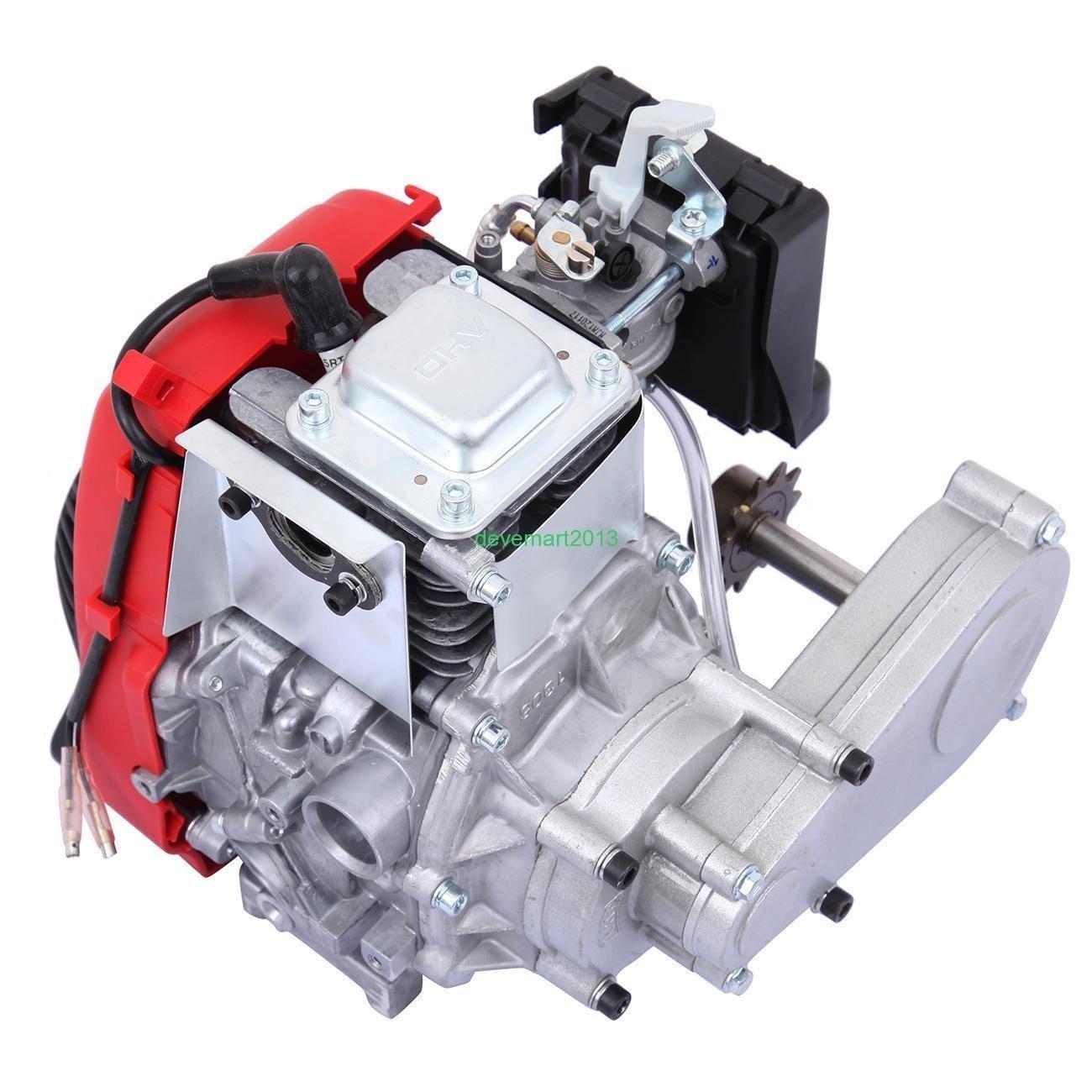 Amazon com : 49cc 4-Stroke Cycle Engine Motor Kit Motorized