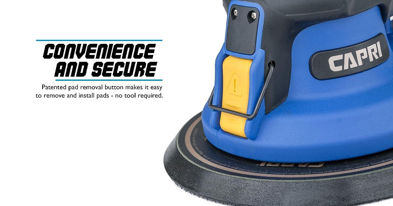 Non-Vacuum 6 inch CP32074 Capri Tools 32074 Random Orbital Palm Sander