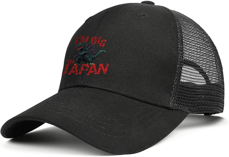Sounthhery Unisex Mesh Back Baseball Cap Trucker Hat