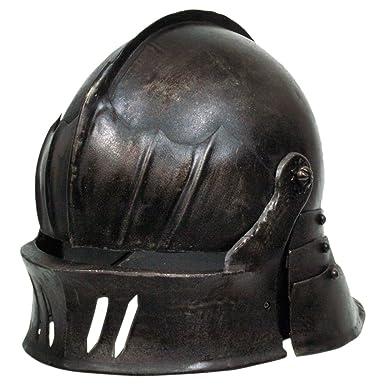 Amazon com: Armor Venue - Gothic Sallet Helmet - Dark Metal