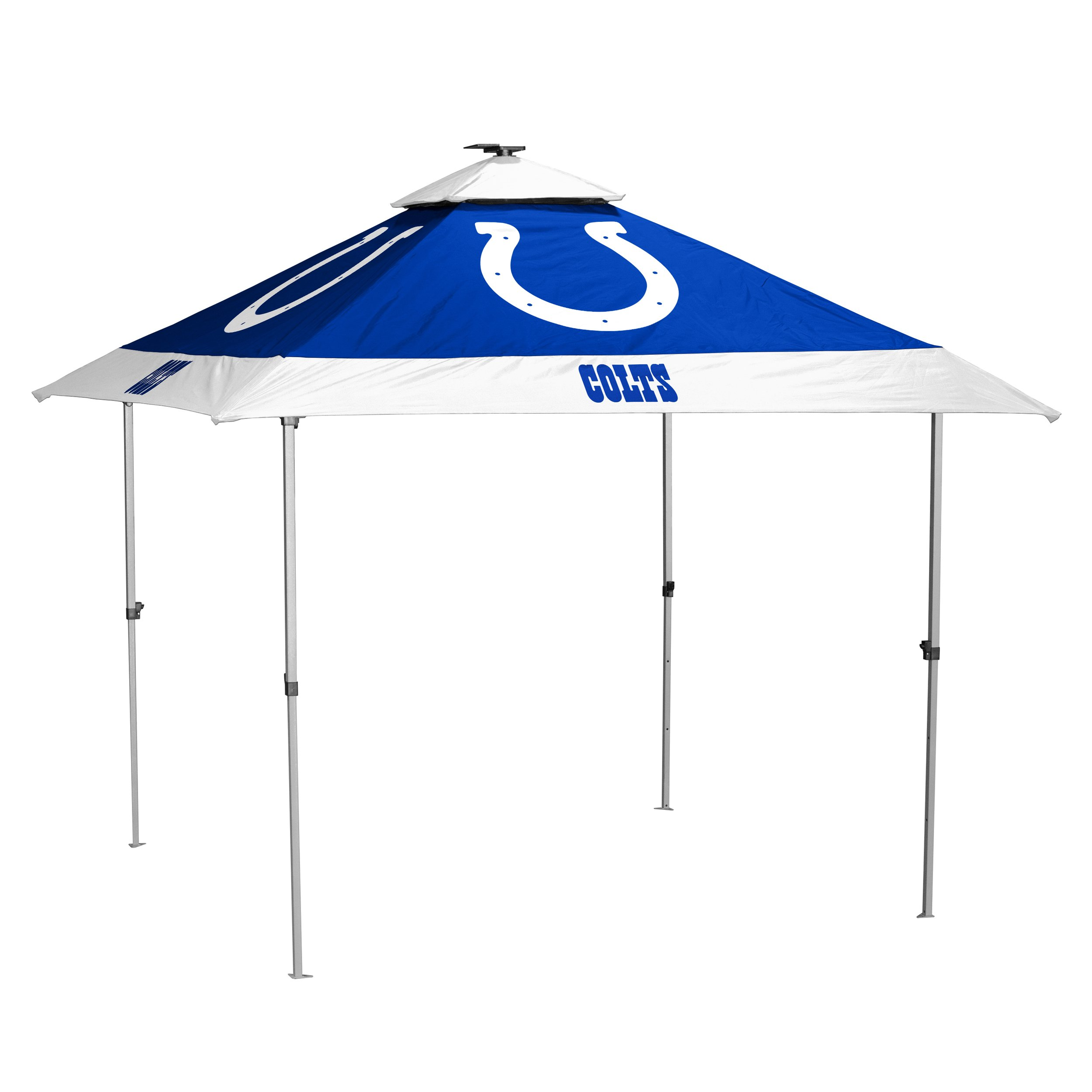Logo Brands NFL Indianapolis Colts Pagoda Tent Pagoda Tent, Royal, One Size