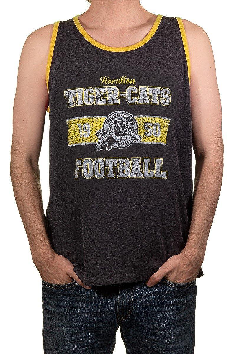 Calhoun Official CFL Hamilton Tiger-Cats Mens Muscle Tank Top