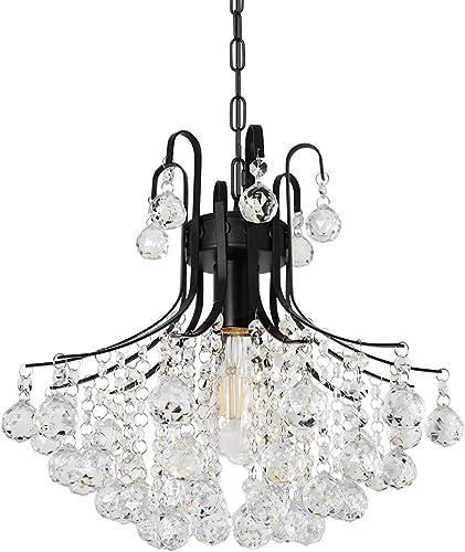 Modern Crystal Chandelier Luxurious Mini Ceiling Light Fixture