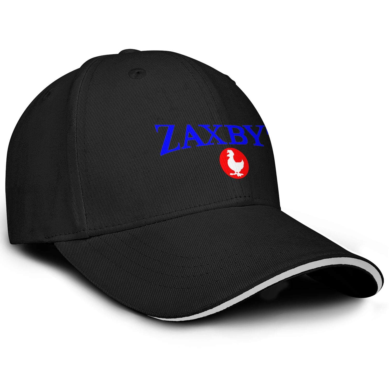 MLDCFGYUD Men Women Caps Zaxbys-Logo Hats Snapback Trucker Cap Sports Hat