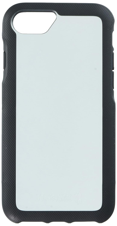 iPhone 6、iPhone 6S、iPhone 7、iPhone 8用のBodyguardz携帯ケース - ブラック/グレー   B075ZGMMF7