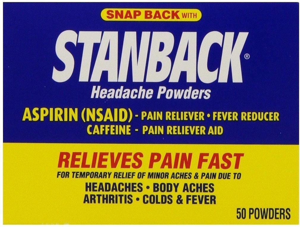 Stanback Headache Powder Size 50ct Stanback Headache Powder 50ct