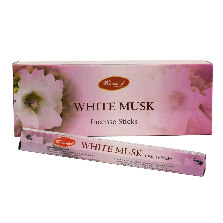 【在庫あり/即出荷可】 aromatikaホワイトムスク香水Incense B0764BWWGK ) Sticks ( Hexa ( ) B0764BWWGK, デサント公式オンラインショップ:bfb4dca1 --- aemmontagens.com.br