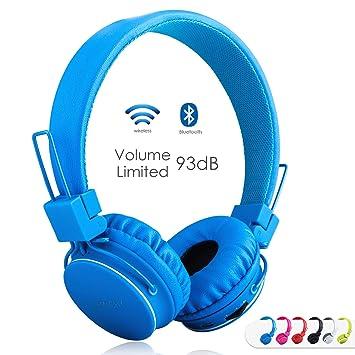 Sodee Bluetooth inalámbrico/con Cable estéreo de Auriculares ...