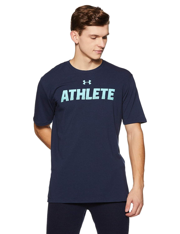 UNDAS:Under Armour Herren Ua Athlete Ss Kurzarmshirt