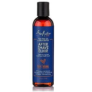SheaMoisture Elixir After Shave, 4 Fluid Ounce