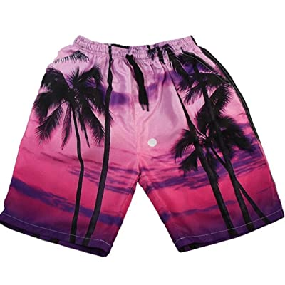 Kjlm Mens Hot Summer 3D Personality Fashion Big Pants Beach Shorts