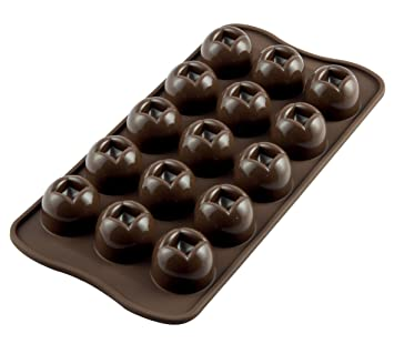 Silikomart Novelty Chocolate Mold 15 Imperial Silicone Chocolate Mold (Sm-03) BakeWare (Sm-03) Candy & Chocolate Moulds at amazon