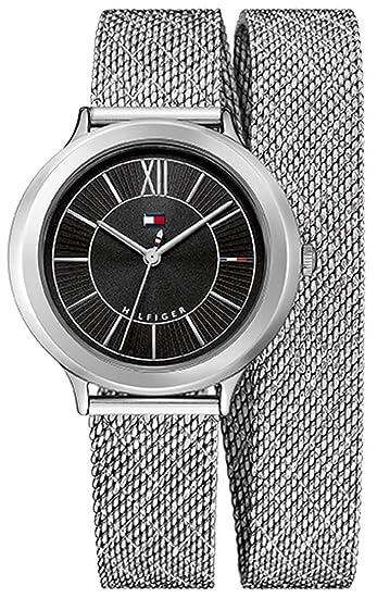 Tommy Hilfiger - Reloj Análogo clásico para Mujer de Cuarzo con Correa en Acero Inoxidable 1781855