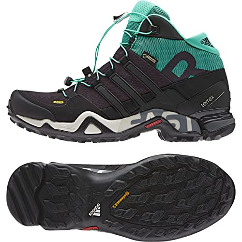 adidas Outdoor Terrex Fast R Mid GTX Hiking Boot - Women s MINERAL RED BLACK SHOCK  MINT 8 B(M) US  Amazon.in  Shoes   Handbags e67a75ccf