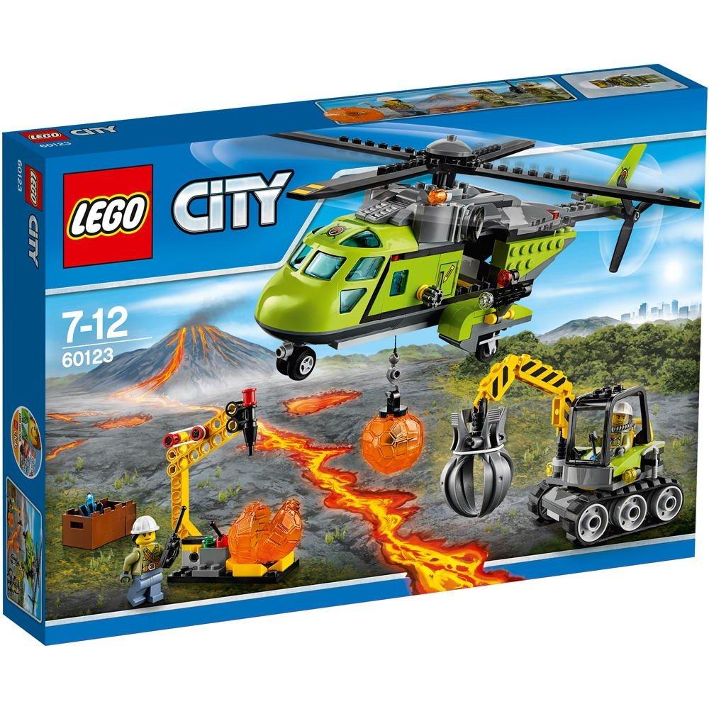 LEGO City - Volcán: Helicóptero de Suministros (60123)
