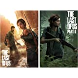 The Last Of Us - Part I & II - Gaming Poster Set (Regular Styles / Game Covers) (Size: 24 x 36 Inches each)