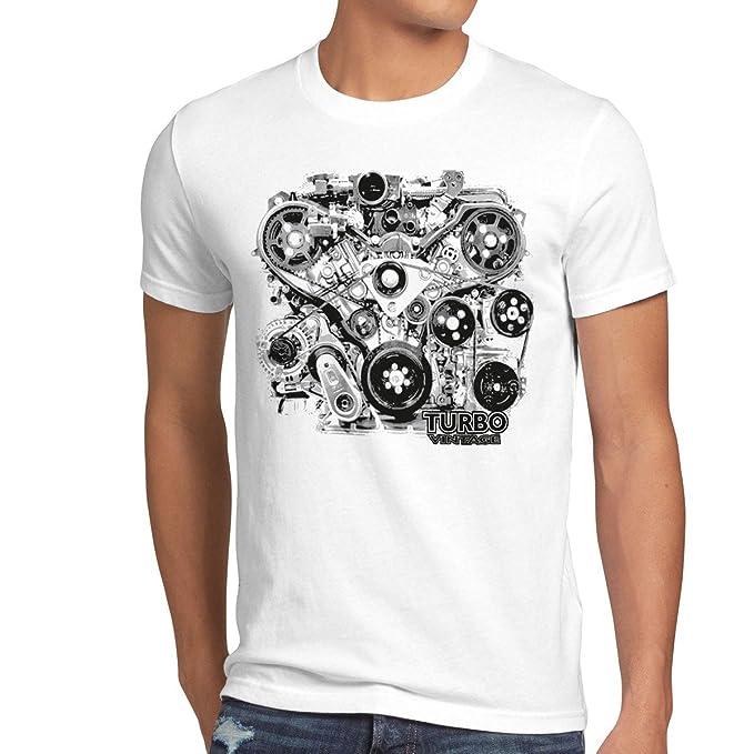 style3 Tubo Vintage Camiseta para hombre T-Shirt v8 motor sound: Amazon.es: Ropa y accesorios