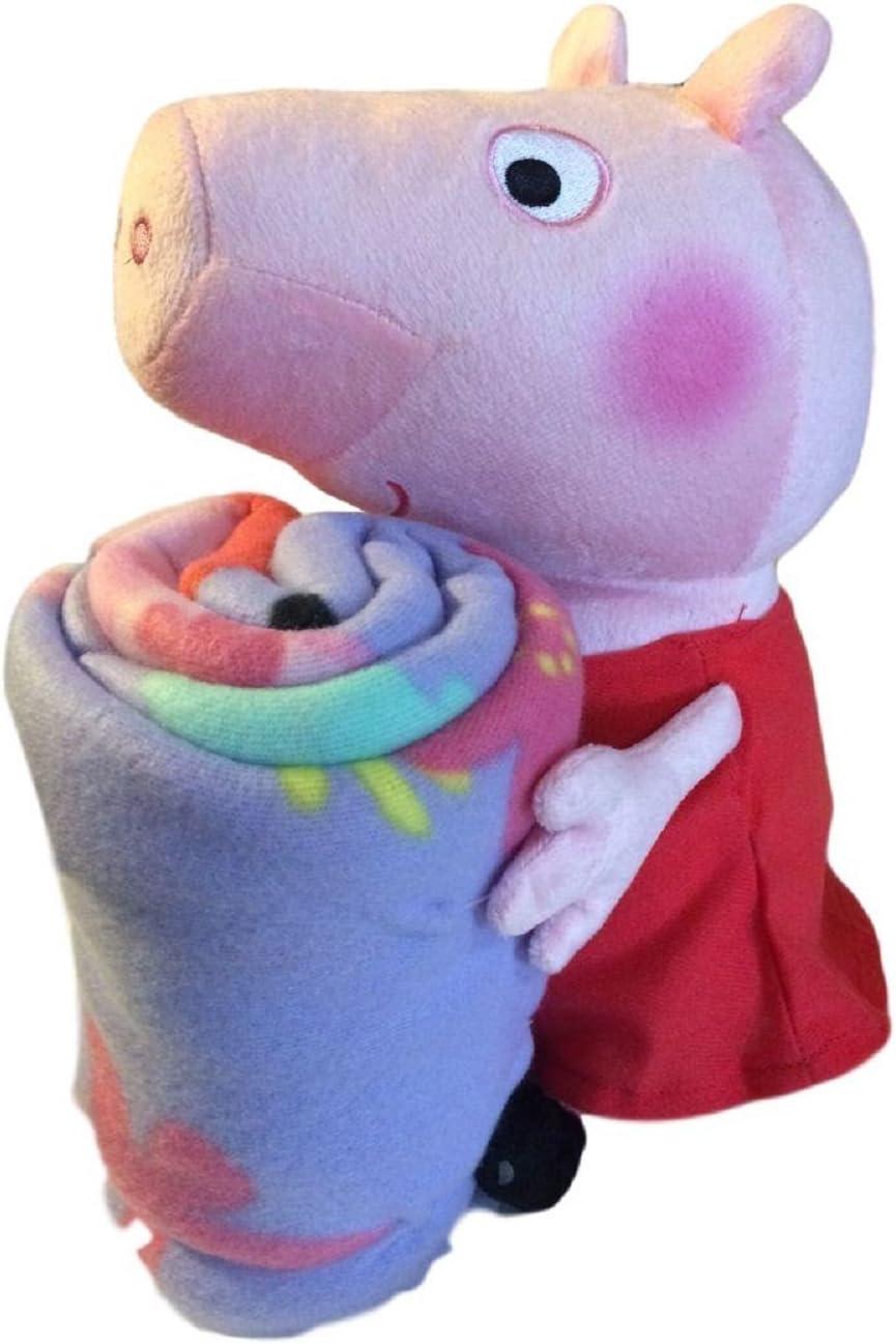 Peppa Pig Plush Pillow Hugger and Throw
