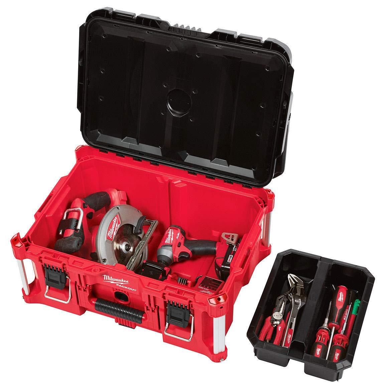 Large Tool Box MILWAUKEE ELEC TOOL Milwaukee Electric Tool 48-22-8425 Pack out