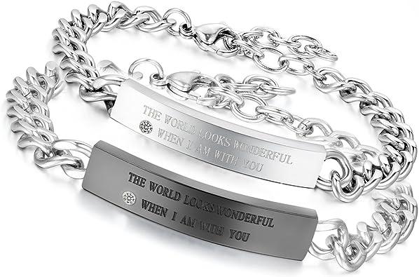 bracelet homme couple
