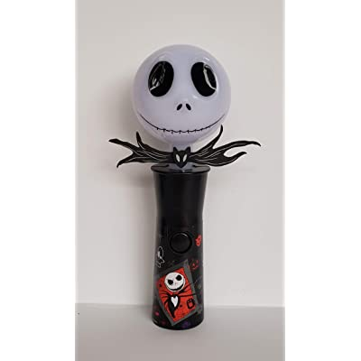 Tim Burton's 8.5 Inch The Nightmare Before Christmas Jack Skellington Light Up Spinner: Toys & Games