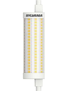 Sylvania ToLEDo R7S 118mm. Bombilla Led Lineal Regulable 118mm 220,240v 15w 2700k R7S.