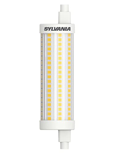 Sylvania ToLEDo R7S 118mm. Bombilla Led Lineal Regulable 118mm 220,240v 15w 2700k R7S.