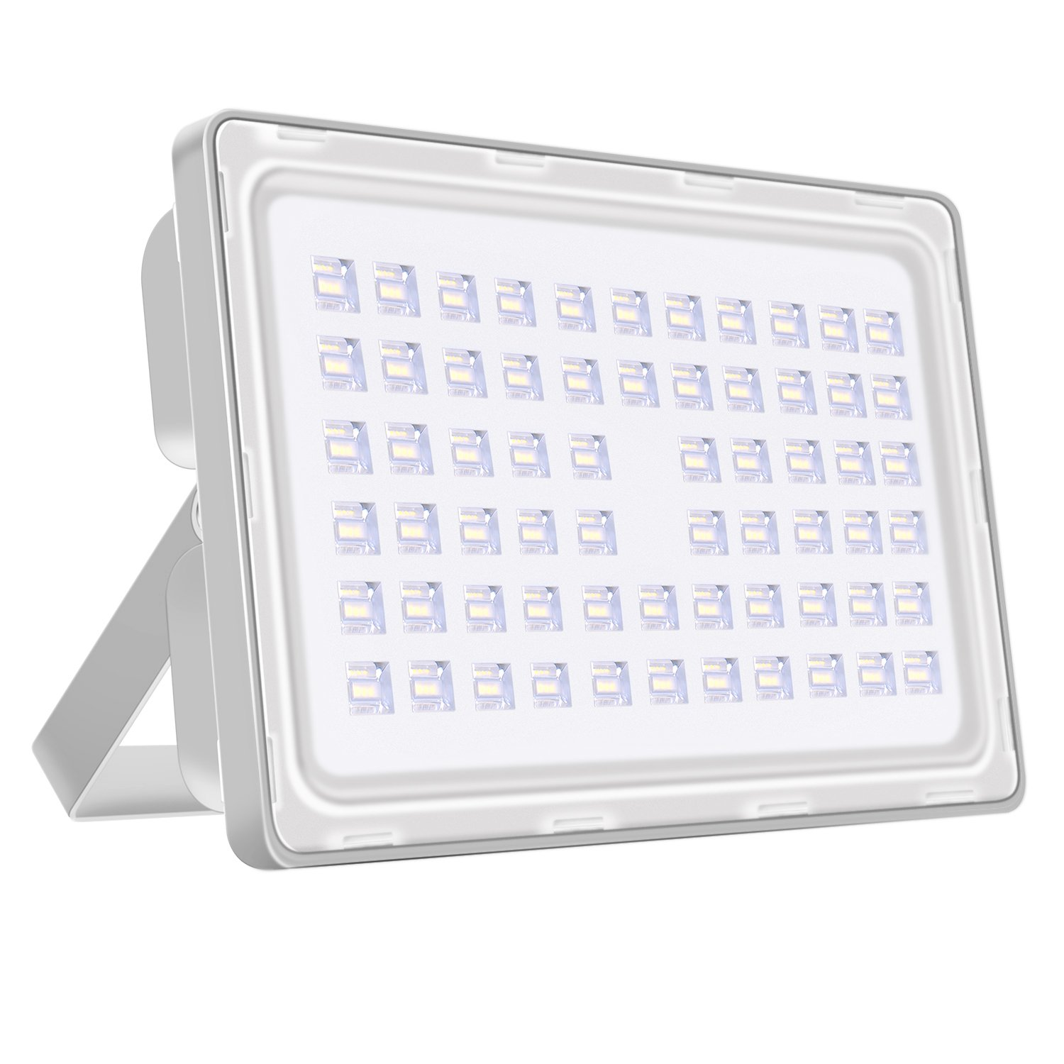 Viugreum 200W LED Outdoor Flood Lights,Thinner and Lighter Design,Waterproof IP65 20000LM,Daylight White(6000-6500K),Super Bright Security Lights,Factory ,Stadium Lamp for Garden,Yard,Warehouse,Square by Viugreum