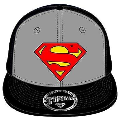 Superman Classic Logo nuevo Oficial DC Comics negro snapback Gorra ...