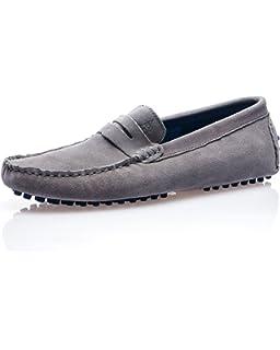 American People Chaussures Mocassin homme noir suèdine American People rzhK0ue4b