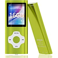 MYMAHDI MP3/MP4 Music Player with 16 GB Micro SD Card(Expandable Up to 128GB),Supporting Photo Viewer,Voice Recorder,FM…