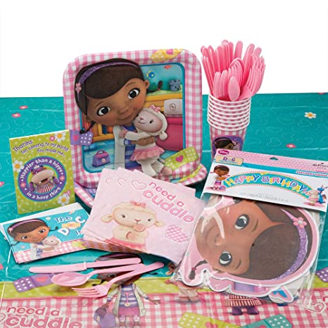 Amazon Doc McStuffins Party Supply Bundle