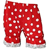 Bumble Bee Lady Bug Red /& White Polka Dots Short Bloomers Halloween Fancy Dress