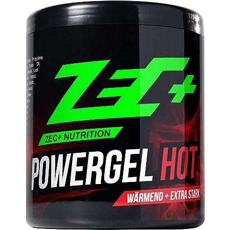 ZEC+ Sportgel POWERGEL HOT   wärmendes SCHMERZGEL   mildert MUSKELKATER   bei GELENK & MUSKELSCHMERZEN   durchblutungsfördern