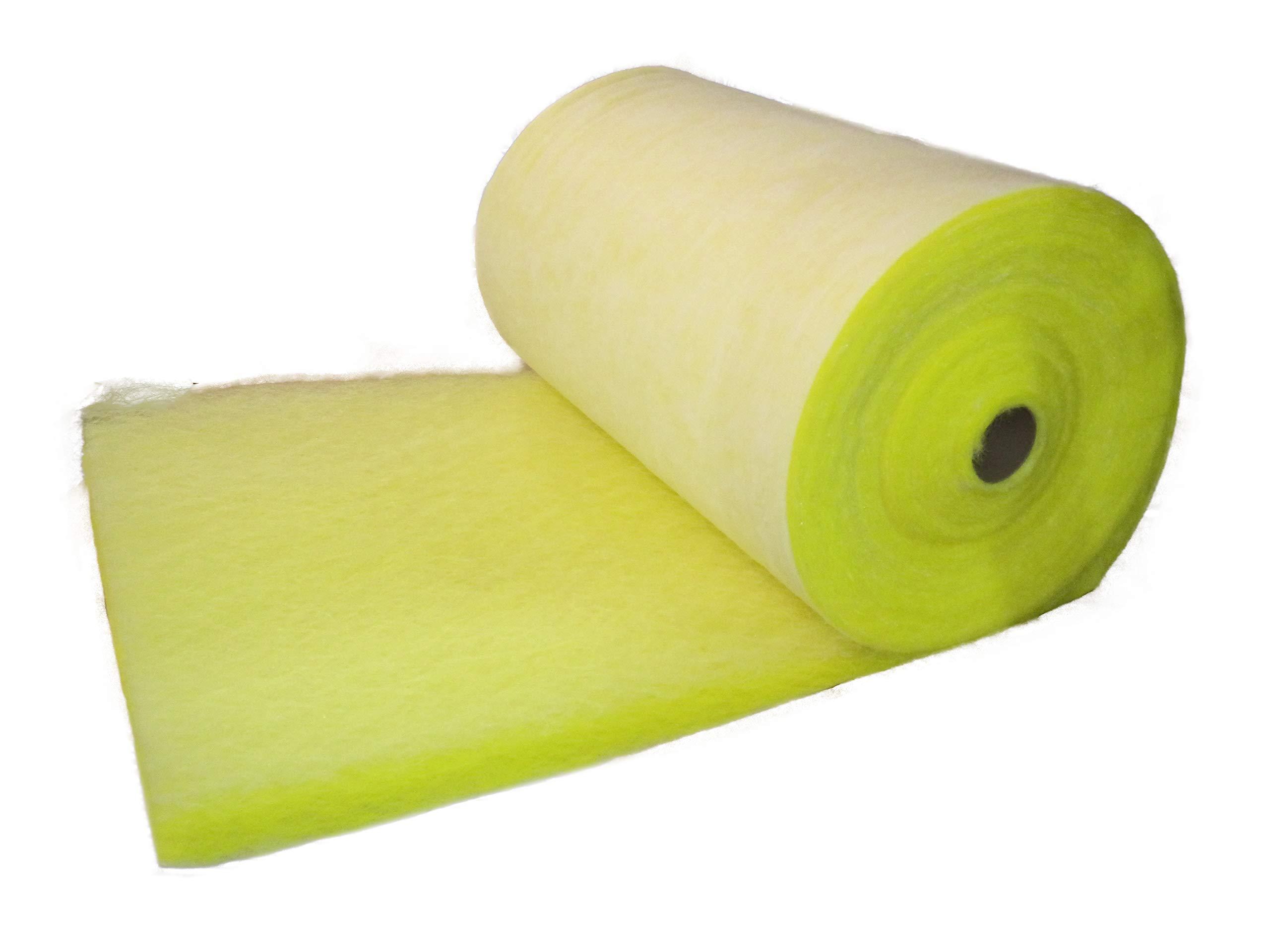 Chemco, 30YROLLT12, 300'x30''x2-1/2'' T-12 Fiberglass Paint Arrestor Media Roll, 1 Roll